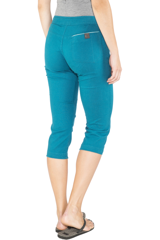 Millet Babilonia Hemp - Pantalones cortos Mujer - azul  f12499ae35ed